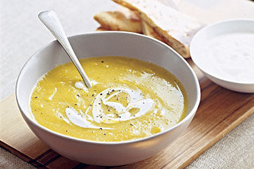 cauliflower and tahini soup