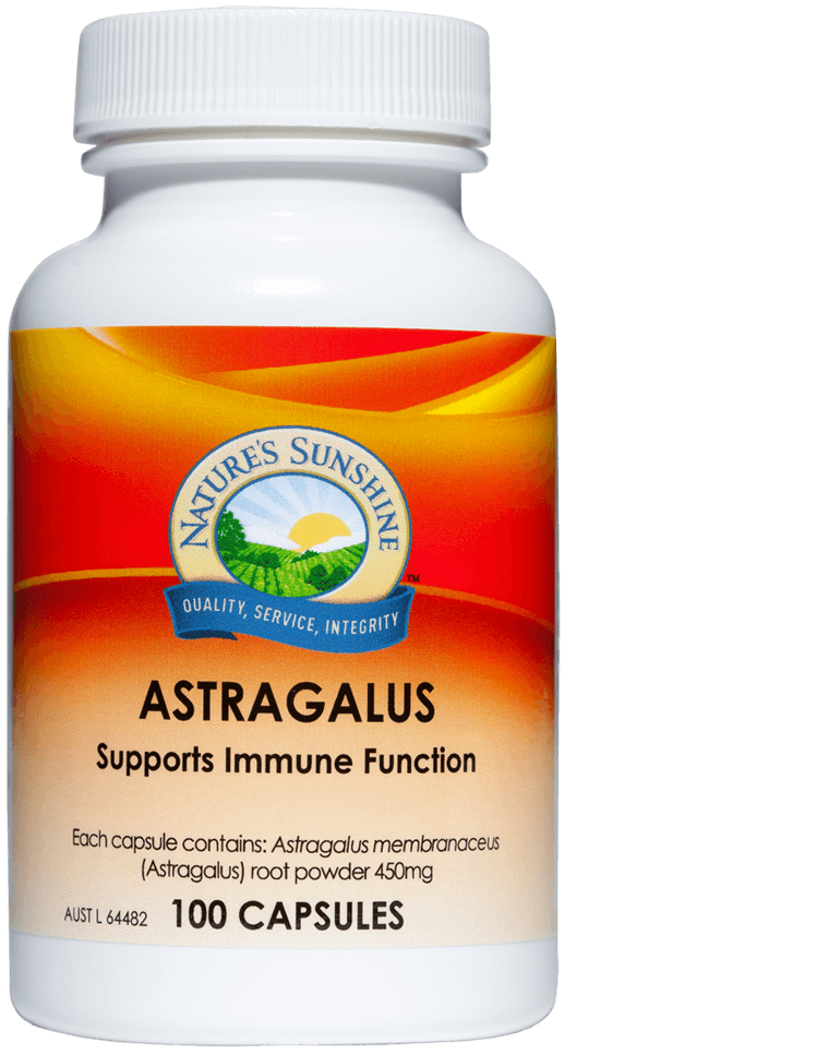 bottle of Nature's Sunshine Astragalus