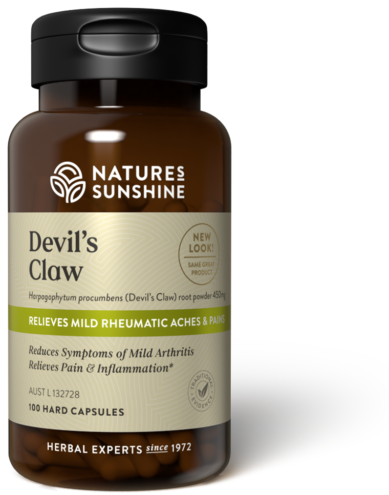 bottle of Nature's Sunshine Devil's Claw