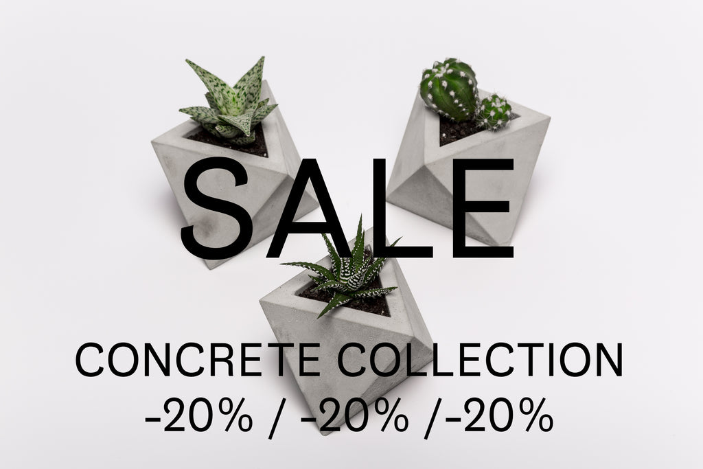SALE / CONCRETE COLLECTION