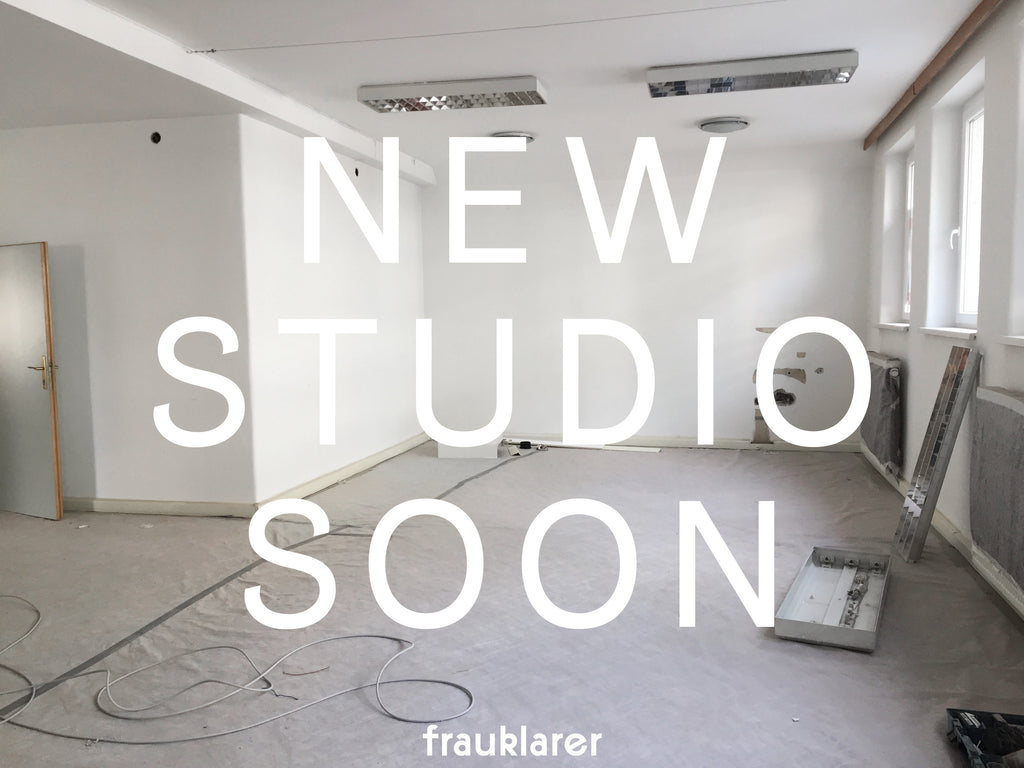 neues Studio für frauklarer in Linz / new studio for frauklarer in Linz