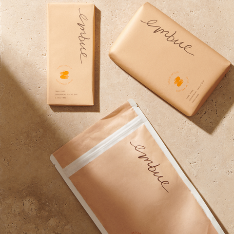 embue cacao products with new brand packaging