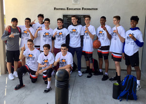 Team Hardwood Wins 16u at Cali Rebels Basketball Tournament
