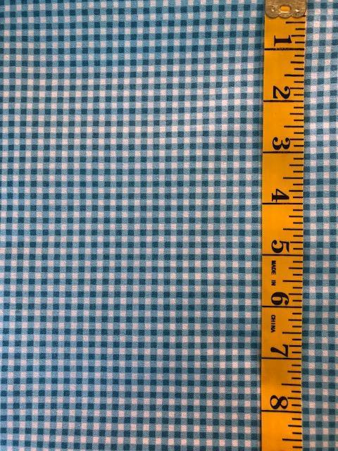 Fabric - Checks & Plaids - Small Scale -  Blue