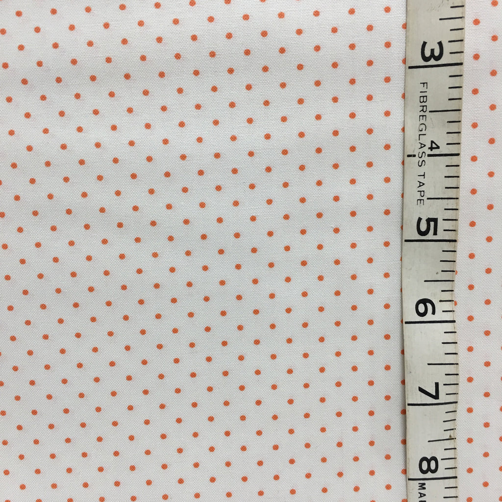 Fabric - Spots Orange small scale