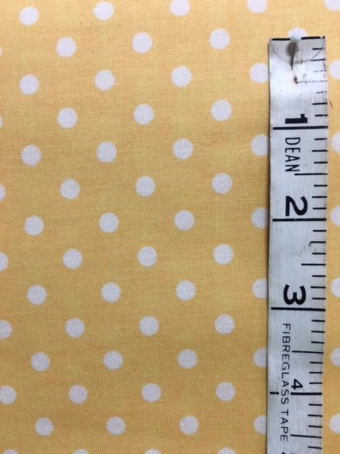 Fabric - Spot - Medium Scale Yuwa with Gold Background
