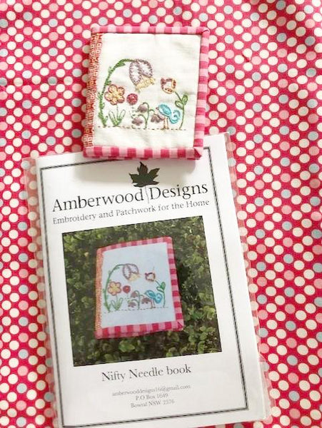Embroidery - Kit - Nifty Needle Book