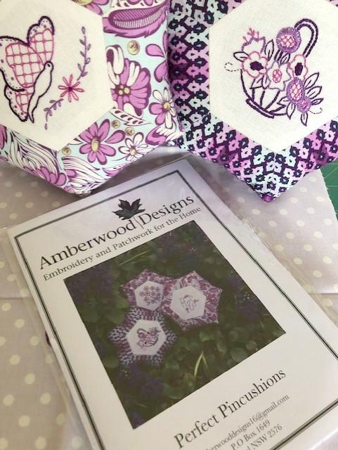 Embroidery - Kit - Perfect Pincushions