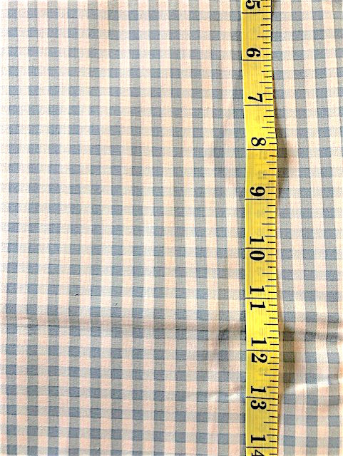 Fabric - Checks & Plaids -  medium scale Blue Yuwa