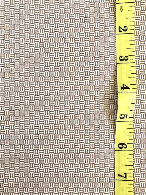 Fabric - Geometric - Basket Weave Pattern
