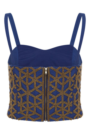 MEHRAULI BEADED TOP