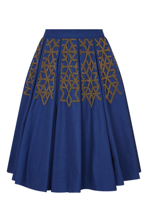 MEHRAULI BEADED SKIRT - Aarabhi