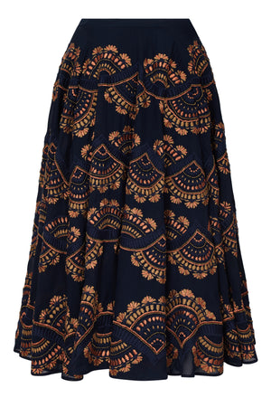 EMPIRE EMBELLISHED SKIRT - Aarabhi