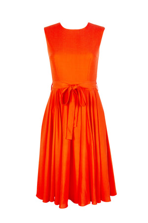 SAFFRON SUMMER DRESS - Aarabhi