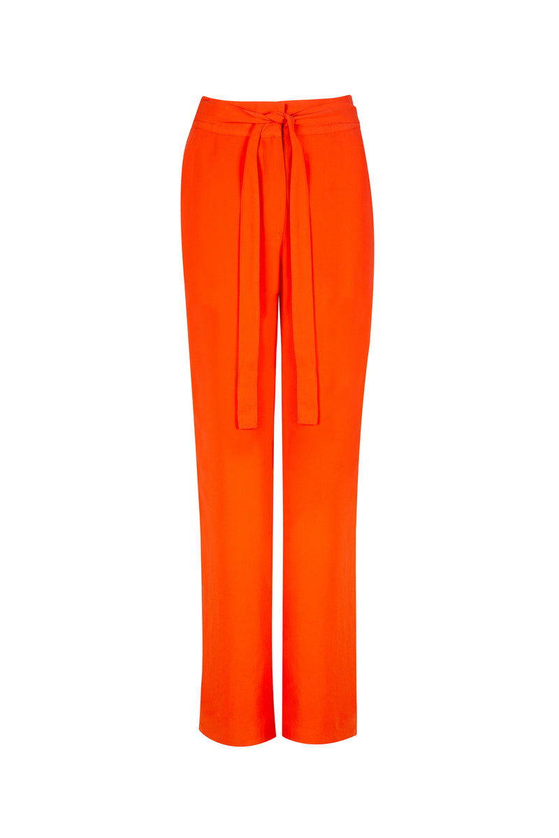 SAFFRON TIED TROUSER