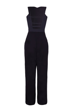 ROSE BEADED JUMPSUIT - Aarabhi