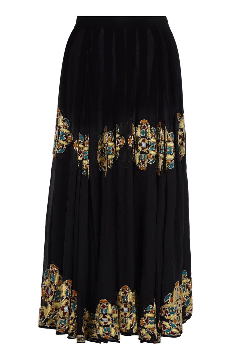 BELLE EMBELLISHED SHEER SKIRT - Aarabhi