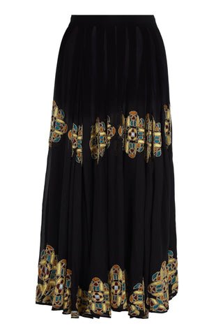 BELLE MAXI SHEER DRESS