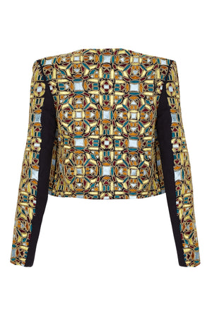 BELLE EMBELLISHED JACKET - Aarabhi