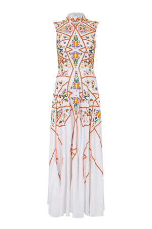 GABRIELLA EMBELLISHED MAXI DRESS - Aarabhi