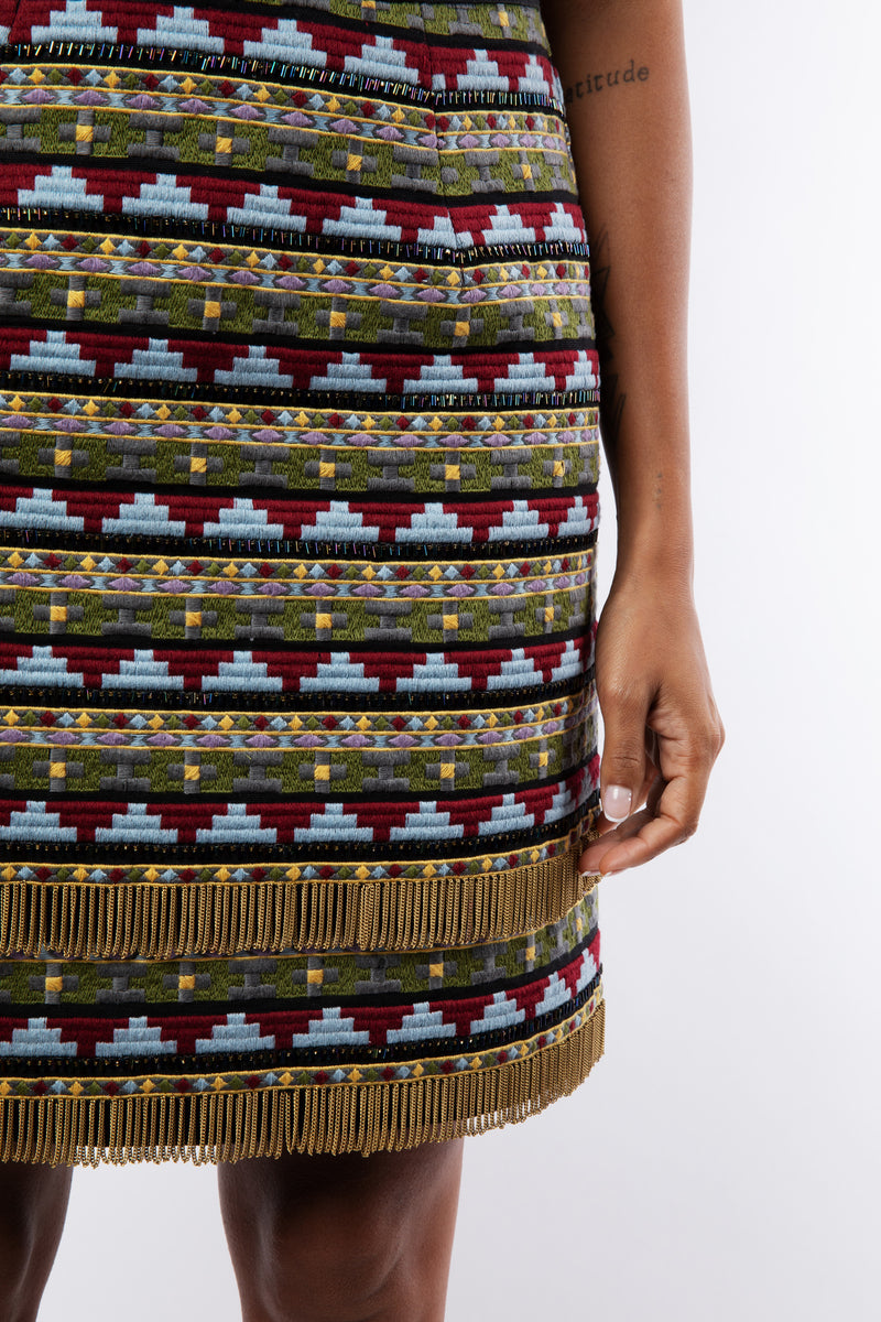 LILLI EMBELLISHED SKIRT