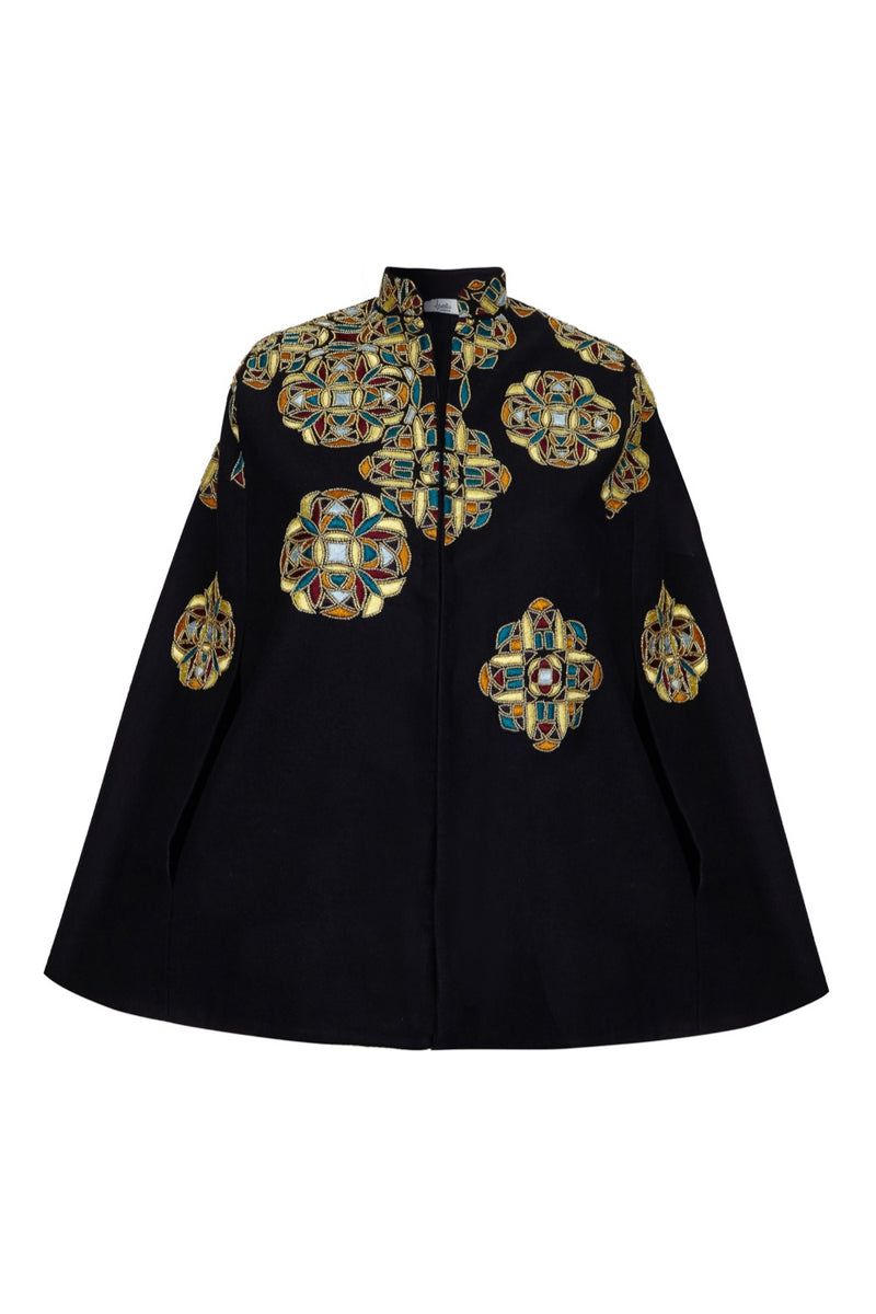 BELLE EMBELLISHED CAPE