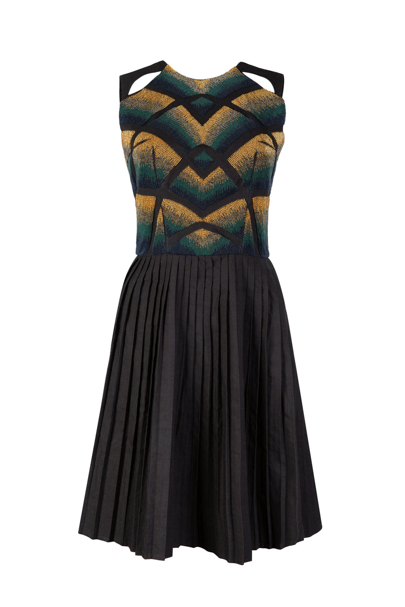 BERLIN BEADED DRESS - Aarabhi