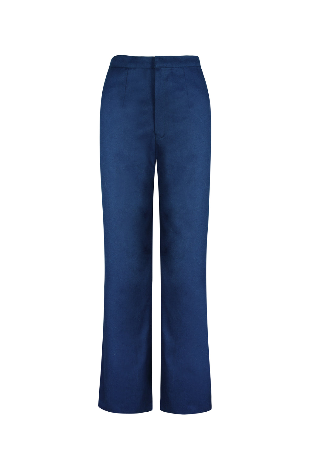 ORGANIC COTTON WIDE LEG TROUSERS
