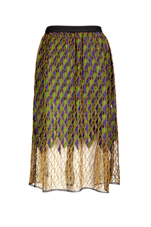 JENNA EMBELLISHED SHEER SKIRT - Aarabhi