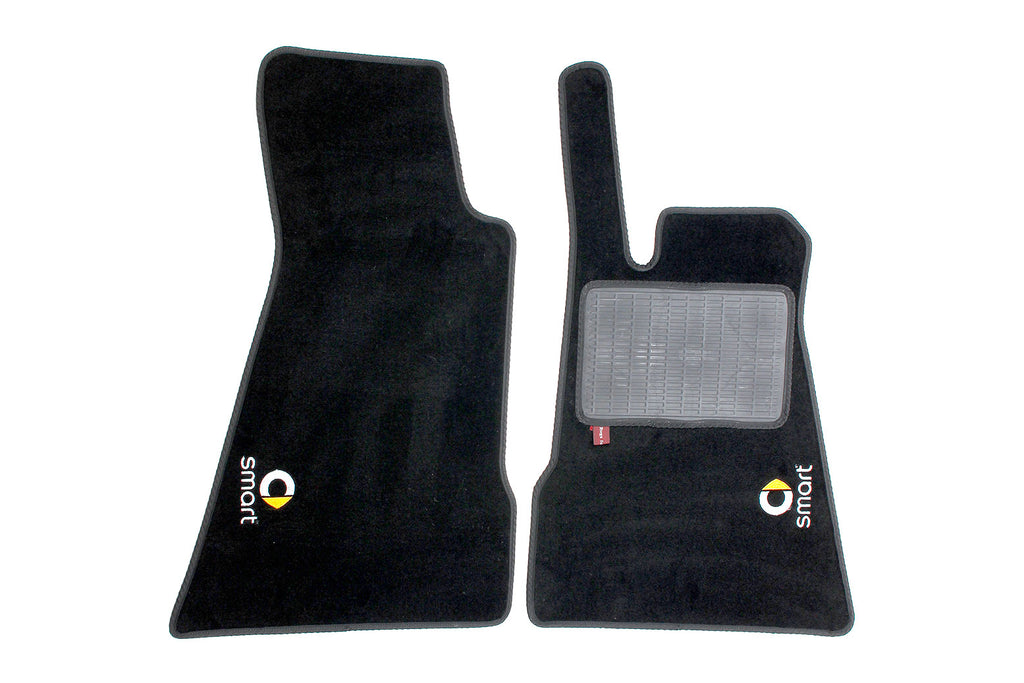 Smart Roadster 2003-07 - Over mat set with Smart logo