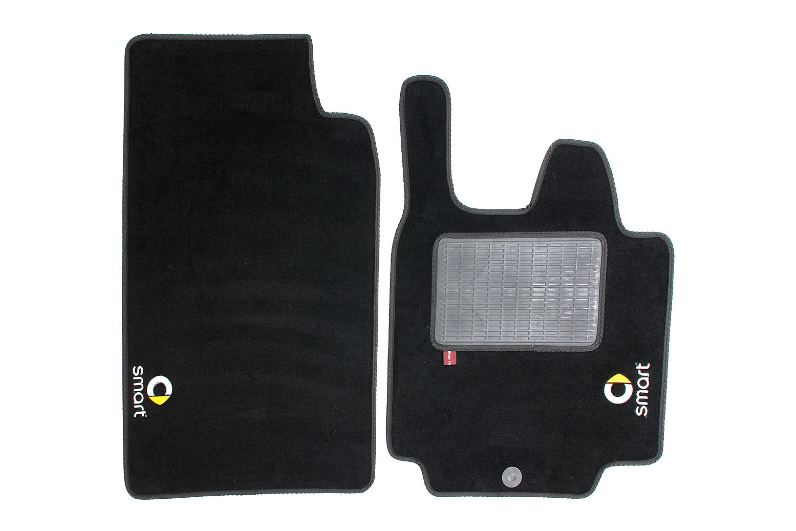 Smart Fortwo  2007-14  - Over mat set with Smart logo and fixings