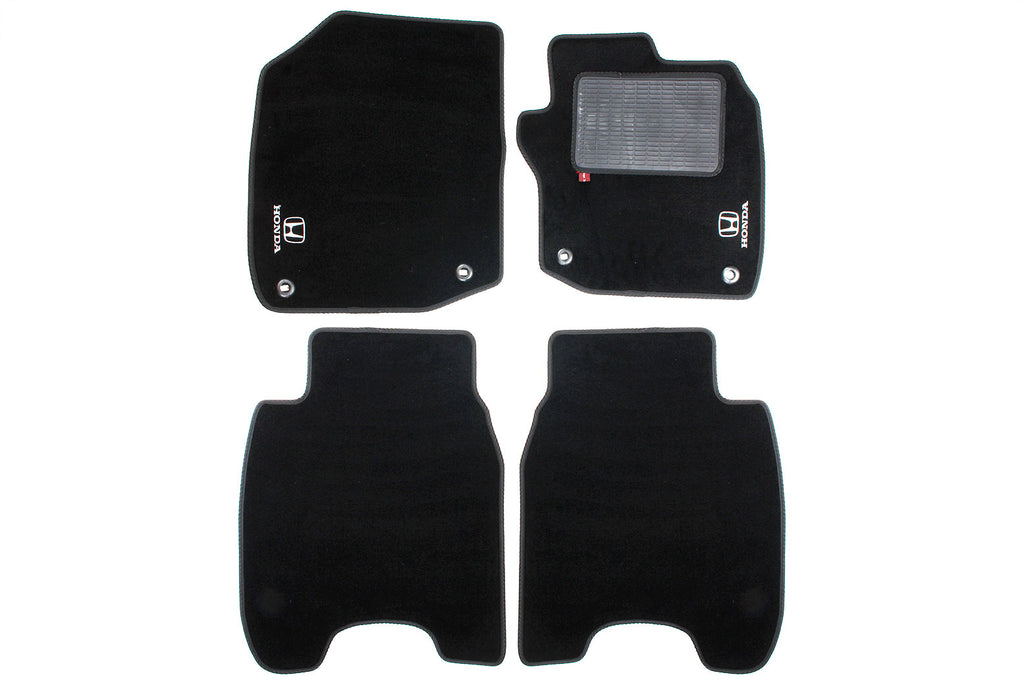 Honda Civic 2012-17 - Over mat set with Honda logo and fixings