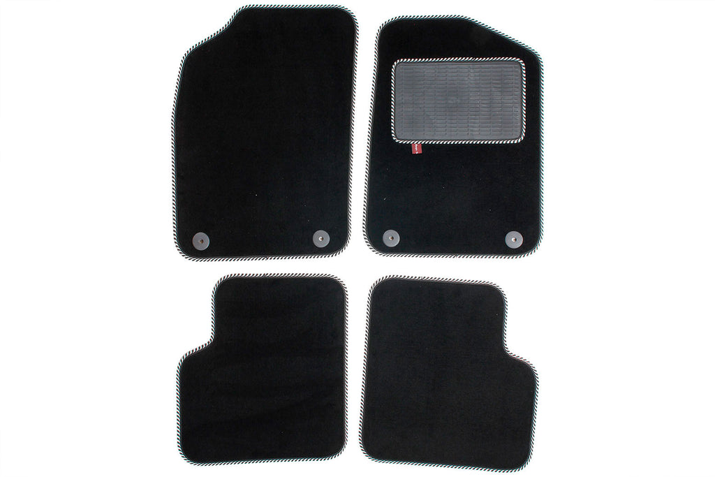 Fiat 500 2012 onwards- Over mat set with fixings