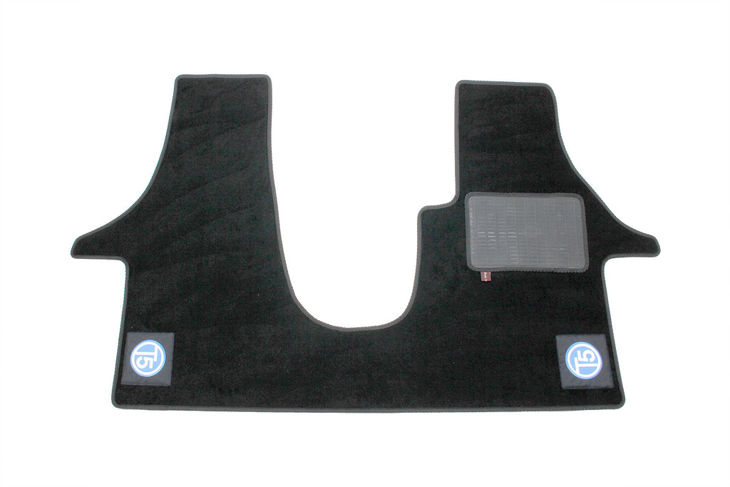 T5 Cab Mat 2+1 Seat with embroidered T5 logo