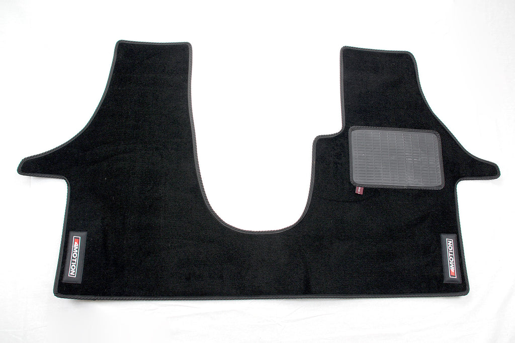 T5 Cab Mat 2+1 Seat with embroidered 4Motion logo