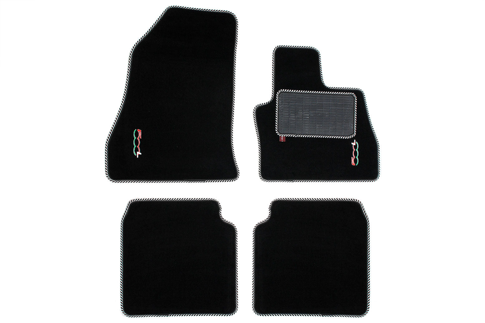 Fiat 500L - Over mat set with Fiat 500L logo