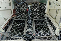 Beetle. Pre-cut sound reducing panels for your beetle floor from Dynamat