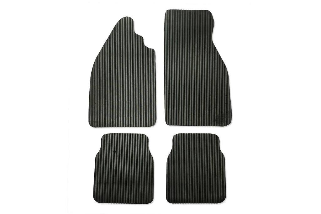 Classic Beetle Over Mat Set in Heavy Duty Ribbed Rubber