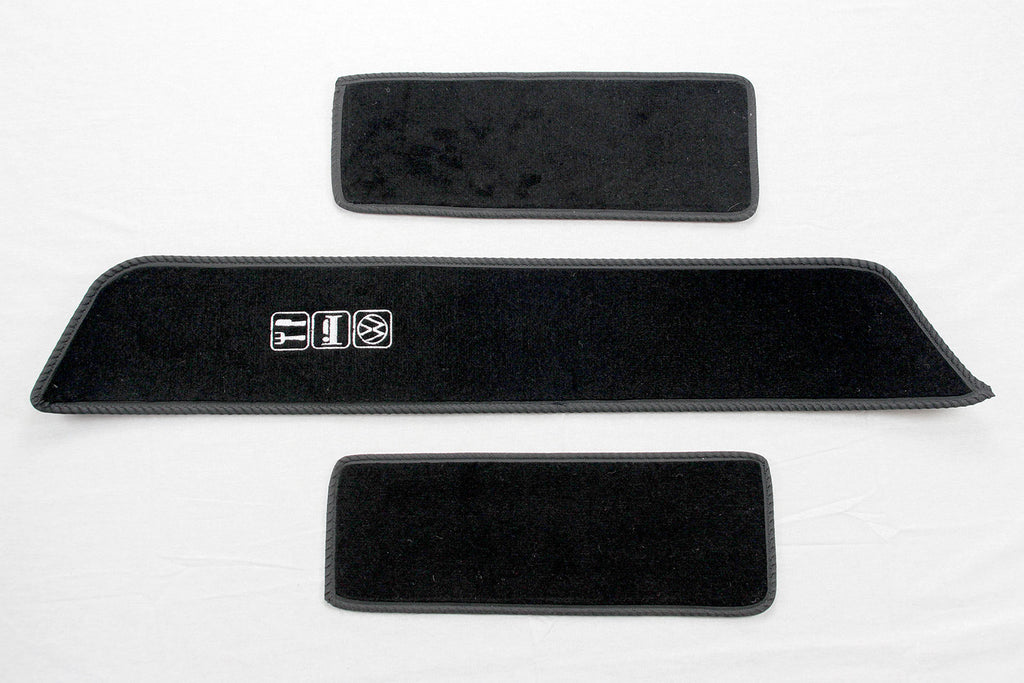 T5 Side Steps with Eat, Sleep, VW embroidered logo