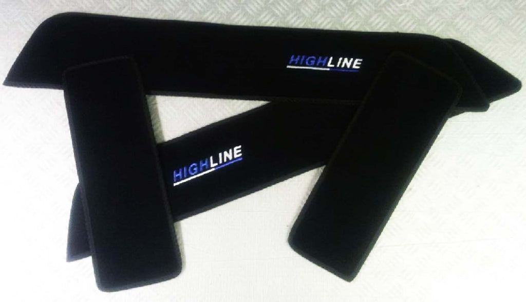 T6 Highline Side Steps with extra slider for double slider models