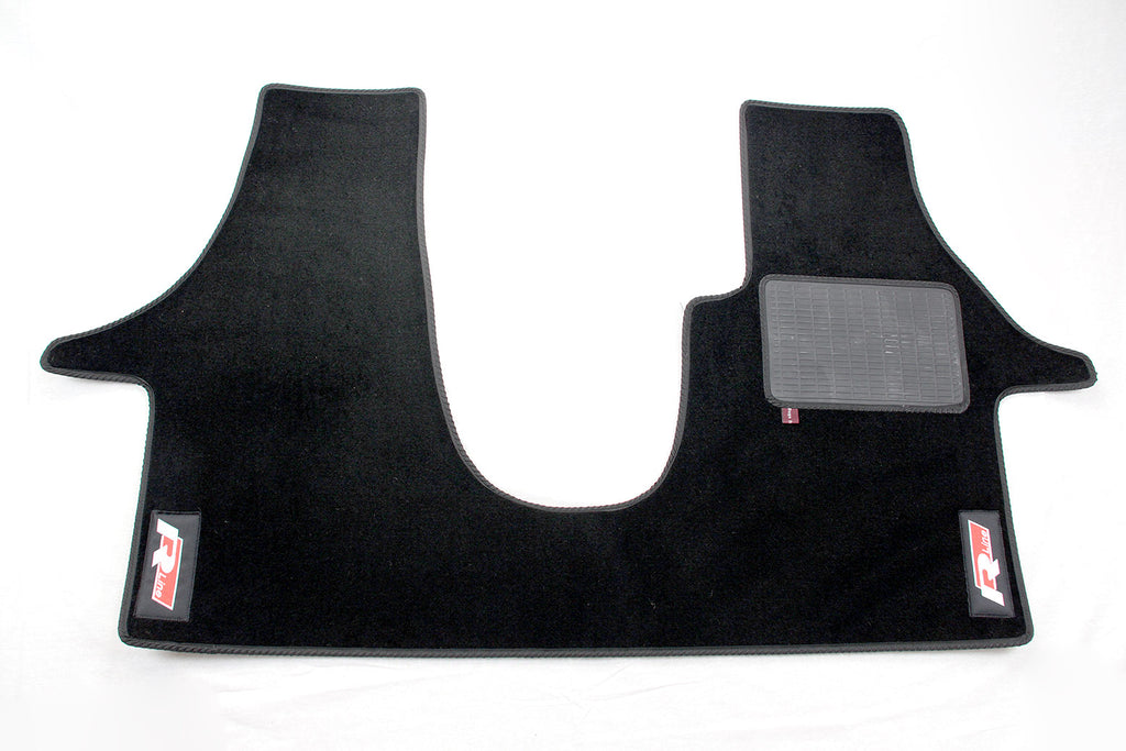 T5 Cab Mat 2+1 Seat with embroidered R-Line logo