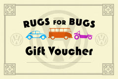 rugs for bugs gift voucher