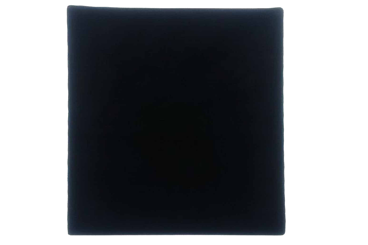 square mat for living area in camper vans in black automotive carpet