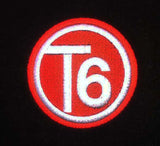 T6 red circle logo Side Steps