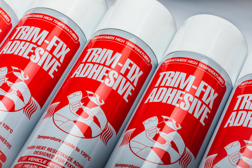 Trimfix automotive adhesive.