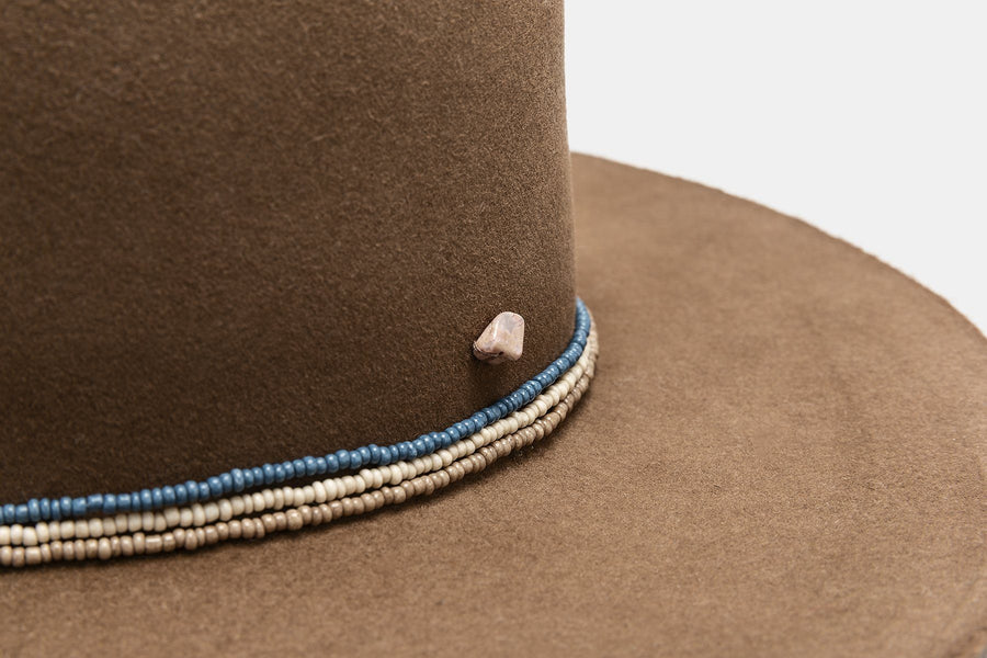 GERONIMO NECK BEADS HAT SuperDuper Hats