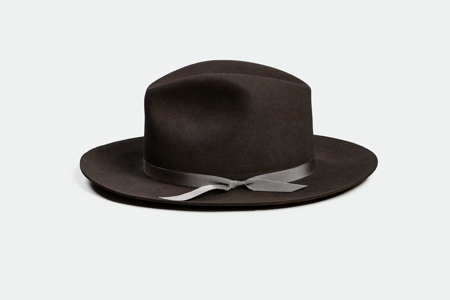 DUKE DARK BROWN HAT SuperDuper Hats