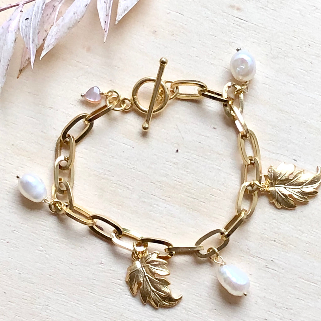 NEW IN: schakelarmband met bedels