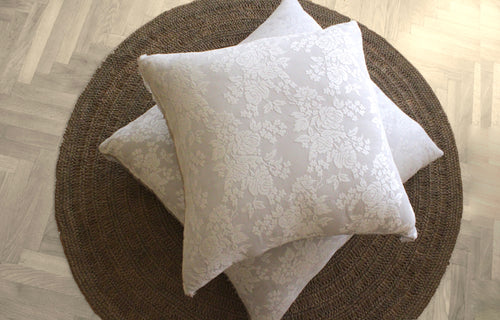 Lace Floor Cushion