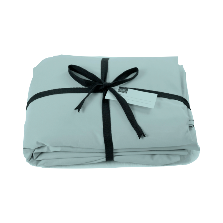 Add a Flat Sheet to your set - Cotton Percale Mediterranean Flat Sheet